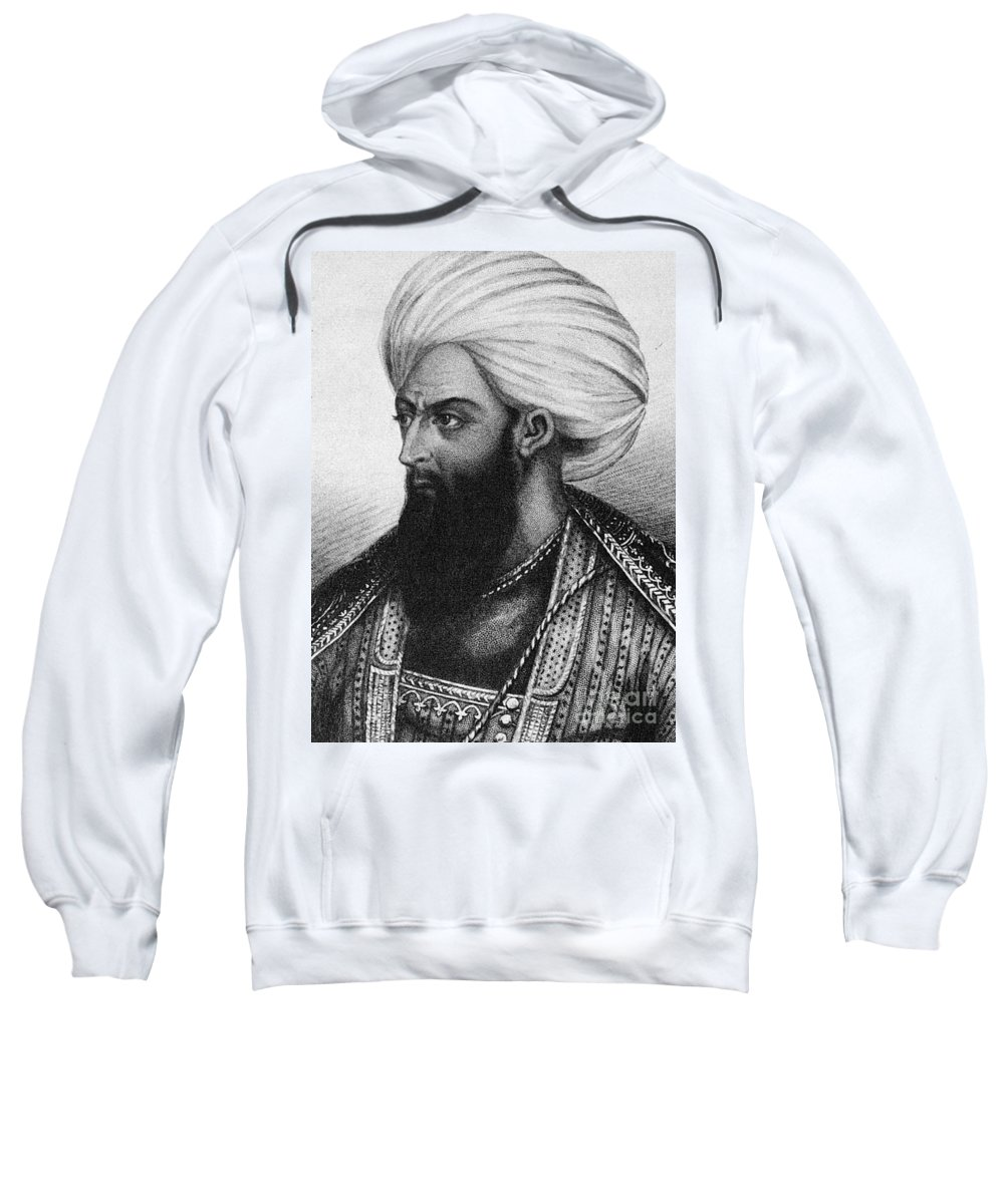 1820s Sweatshirt featuring the photograph Dost Mohammad Khan by Granger