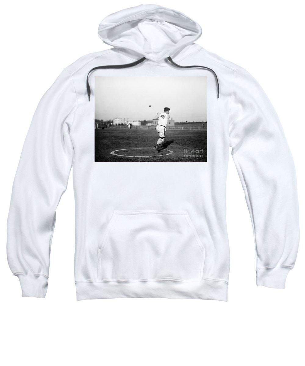 1912 Sweatshirt featuring the photograph Duncan Gillis (1883-1965) by Granger