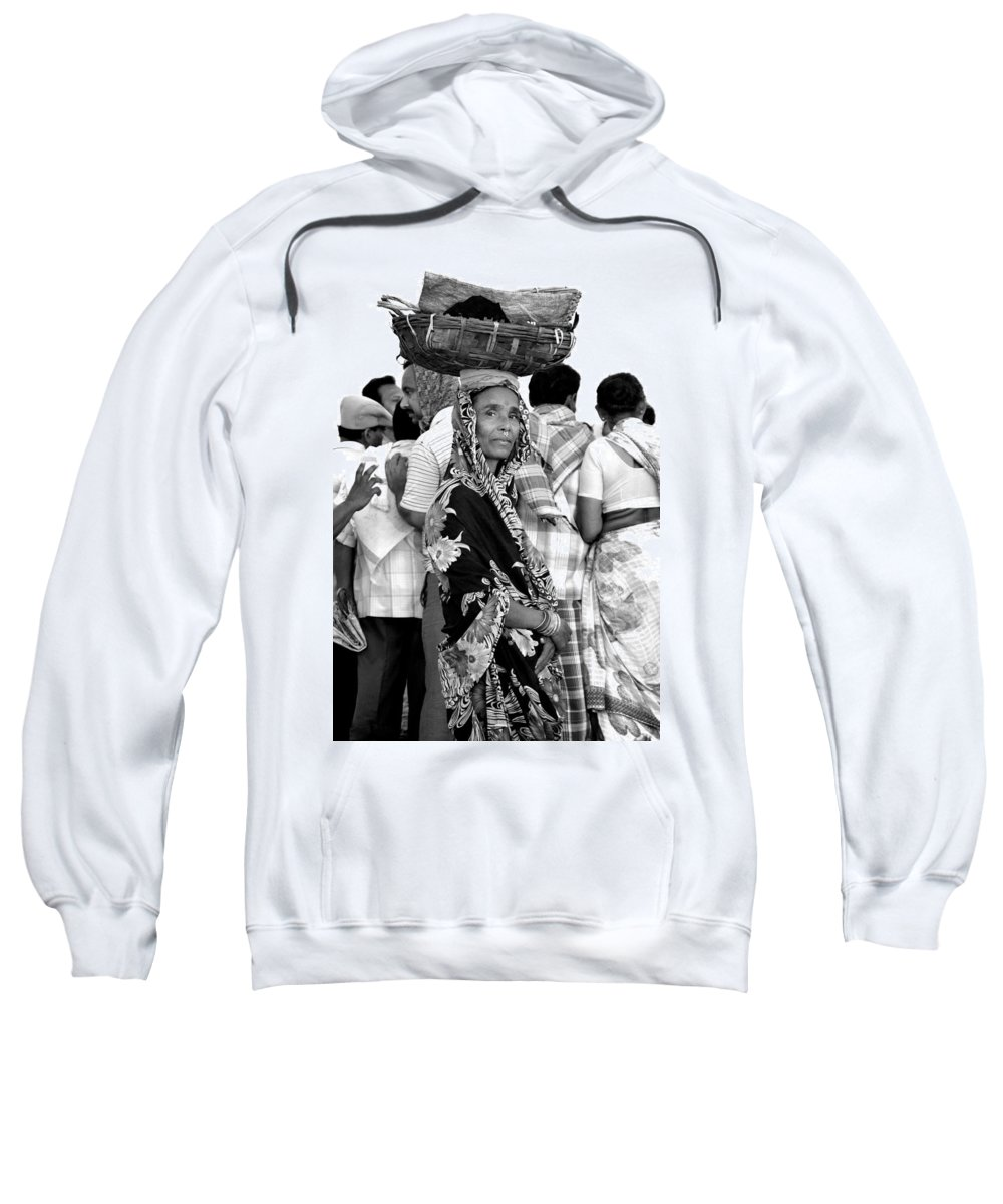 Black And White Photography Sweatshirt featuring the photograph Early Morning Along The Coast by Valerie Rosen