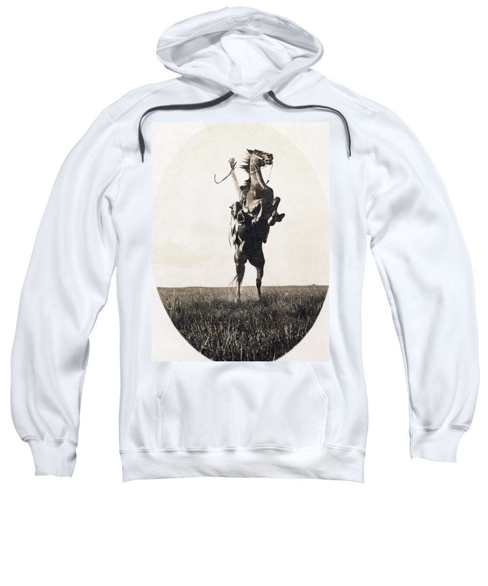 1908 Sweatshirt featuring the photograph Erwin E. Smith (1886-1947) by Granger