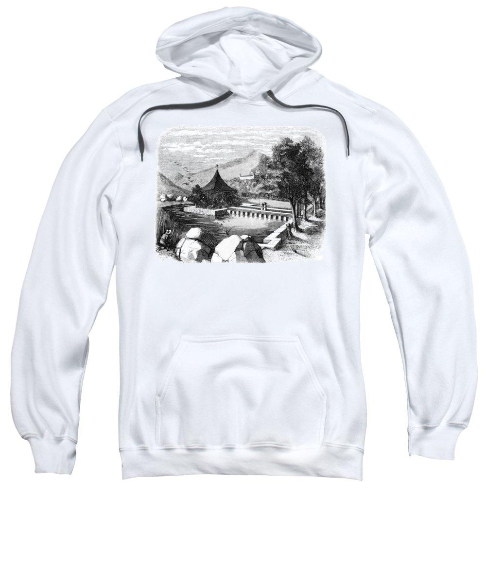 1860 Sweatshirt featuring the photograph Escorial: La Granjilla by Granger