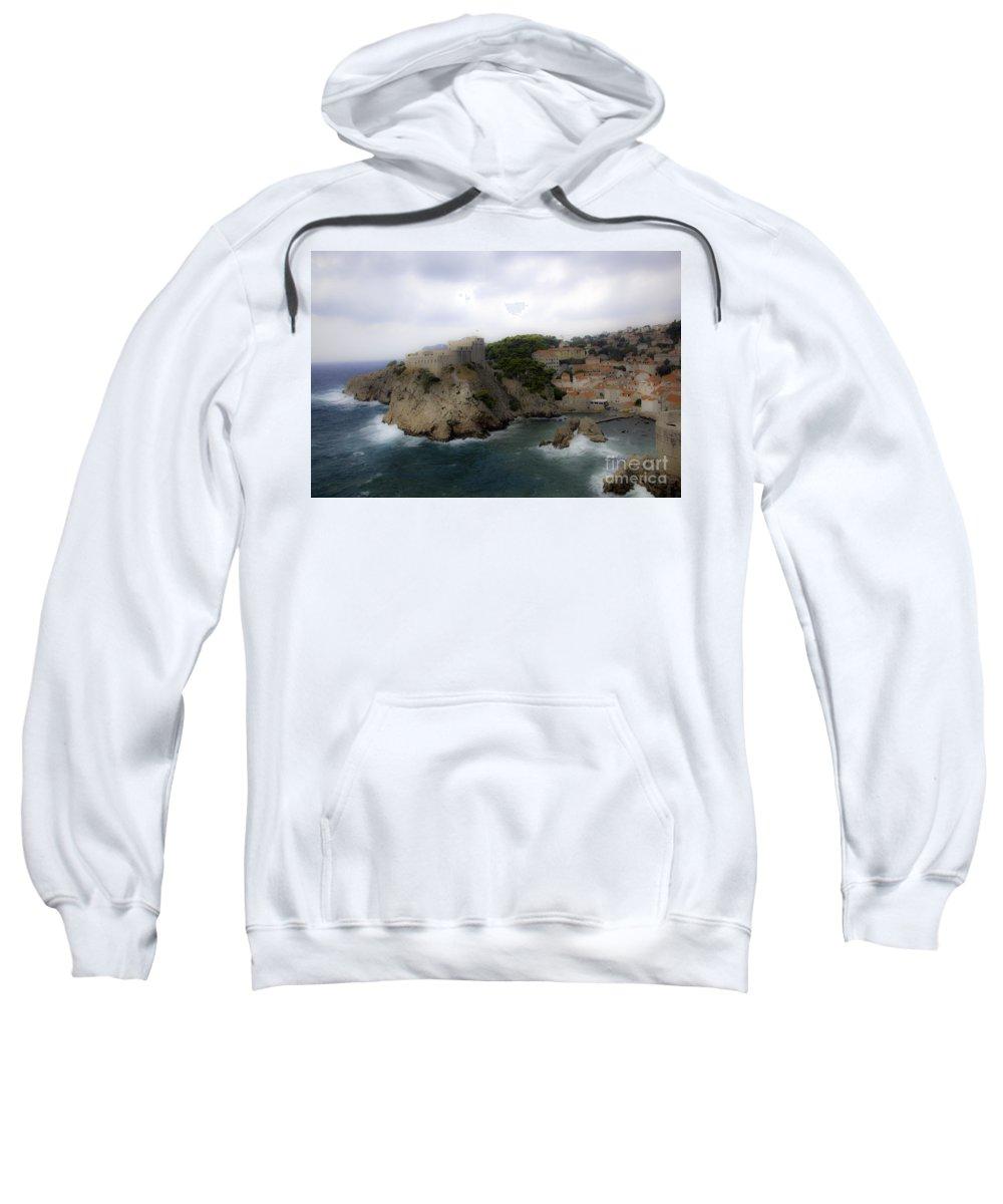 Dubrovnik Sweatshirt featuring the photograph Fairytale Look by Madeline Ellis