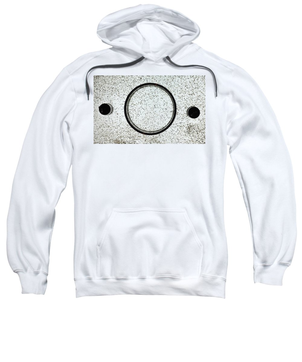 E Fields Sweatshirt featuring the photograph Faraday Cage With No Electric Field by Ted Kinsman
