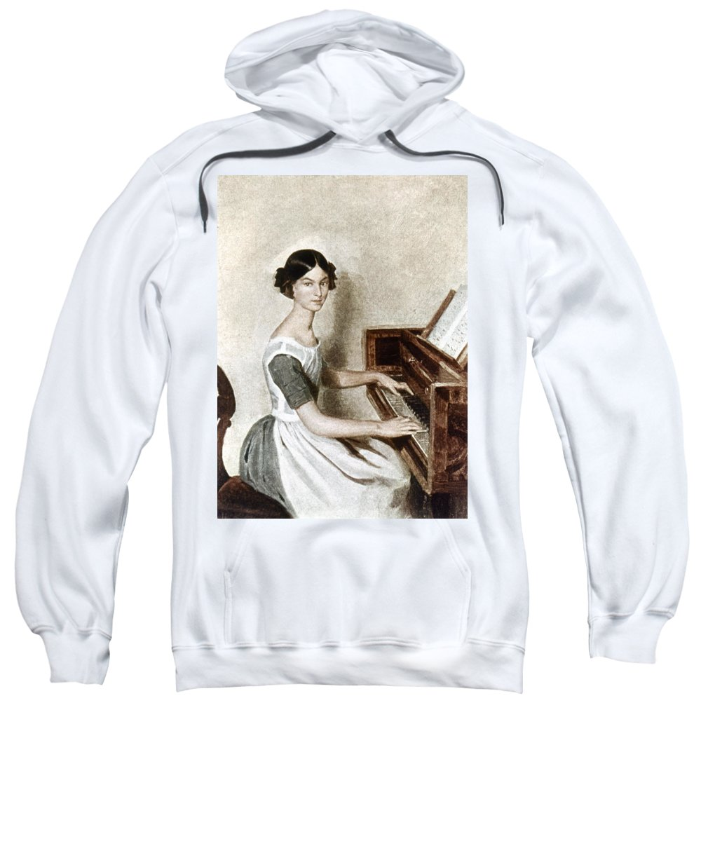 19th Century Sweatshirt featuring the photograph Fedotov: Portrait, 1849 by Granger