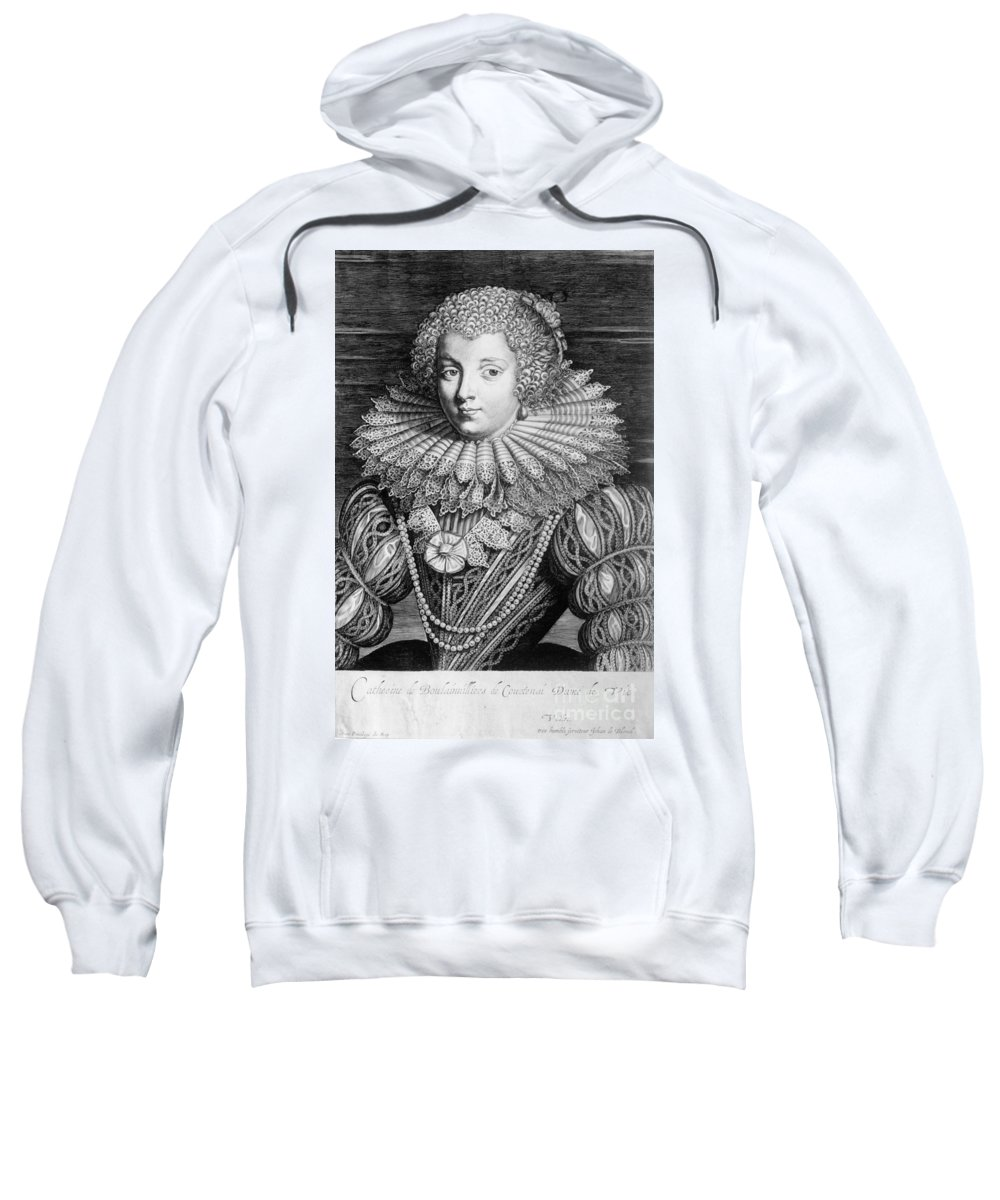 17th Century Sweatshirt featuring the photograph France: Noblewoman by Granger