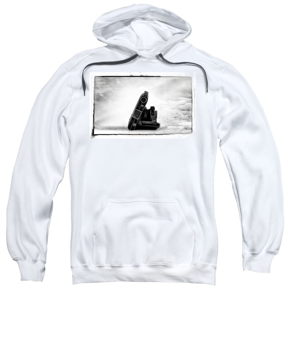 From A Bygone Era Sweatshirt featuring the photograph From A Bygone Era by Bill Cannon