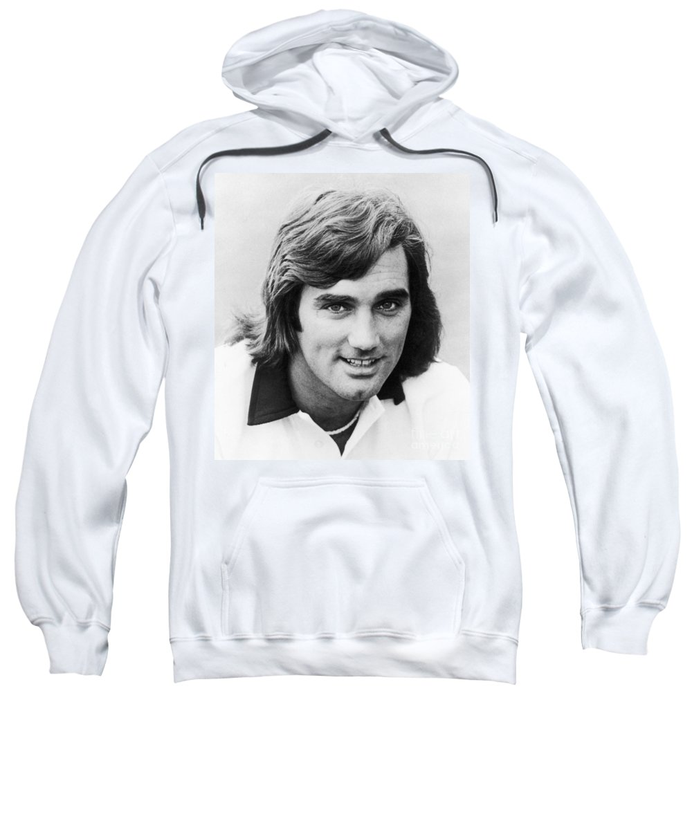 1977 Sweatshirt featuring the photograph George Best (1946-2005) by Granger