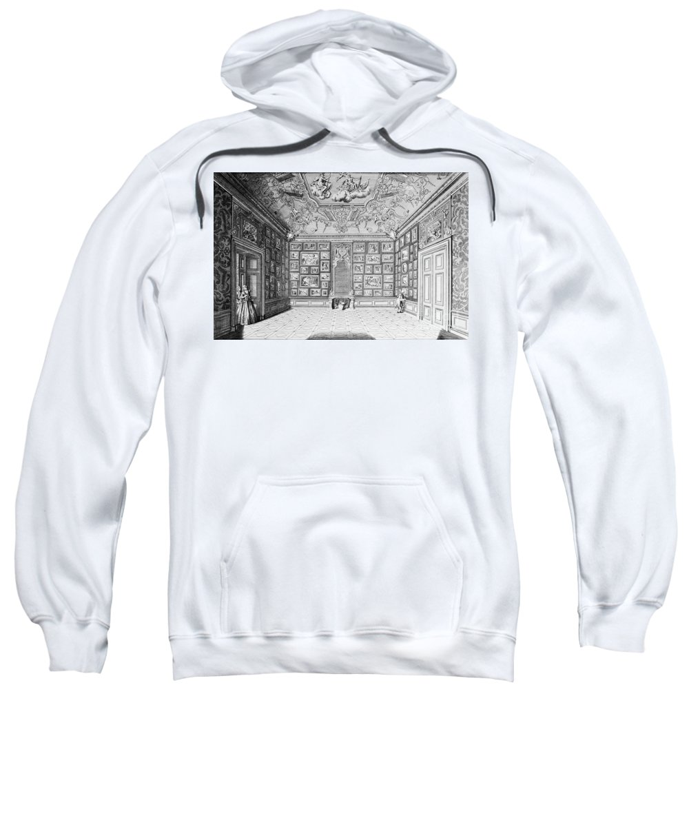 1731 Sweatshirt featuring the photograph Germany: Gallery, 1731 by Granger