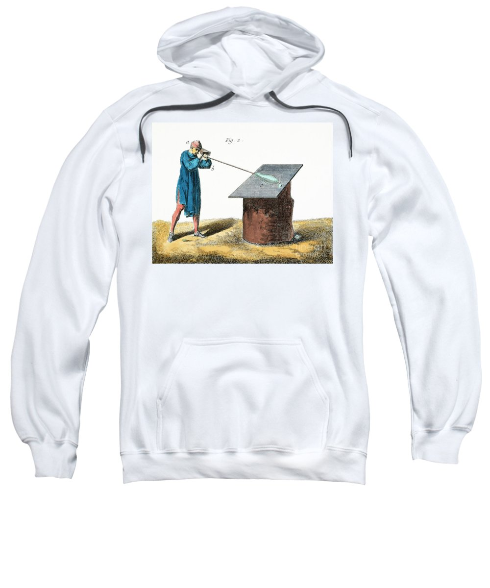 18th Century Sweatshirt featuring the photograph Glassblower, 18th Century by Granger