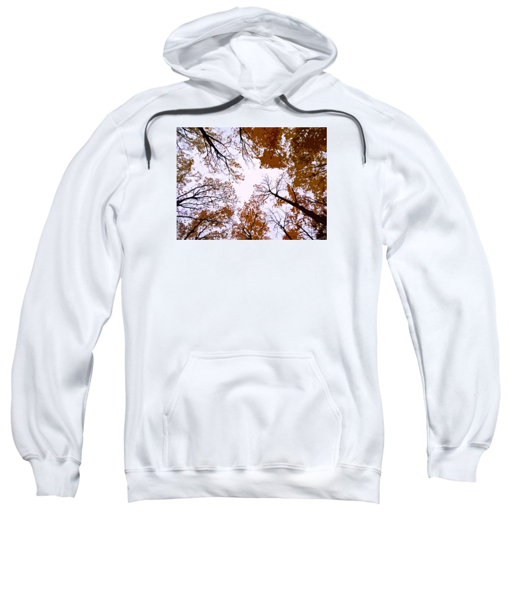 North America Sweatshirt featuring the photograph Golden September ... by Juergen Weiss