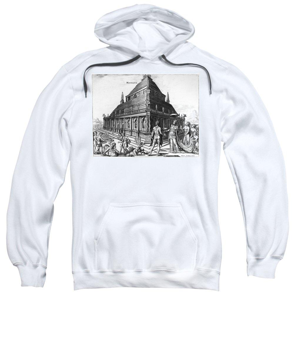 1638 Sweatshirt featuring the photograph Greece: Mausoleum by Granger