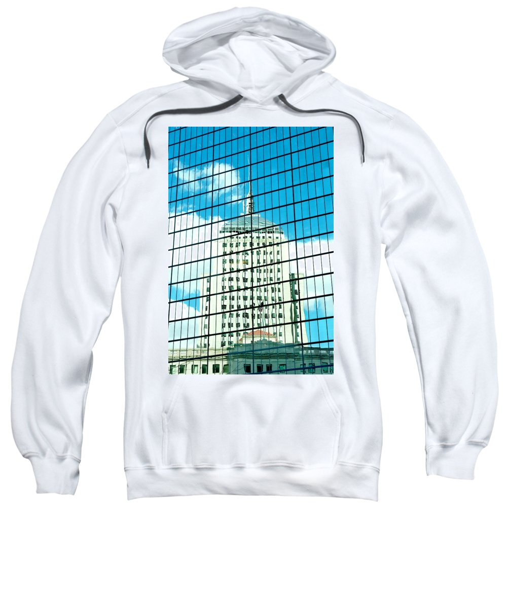 Art Sweatshirt featuring the photograph Hancock Within by Greg Fortier