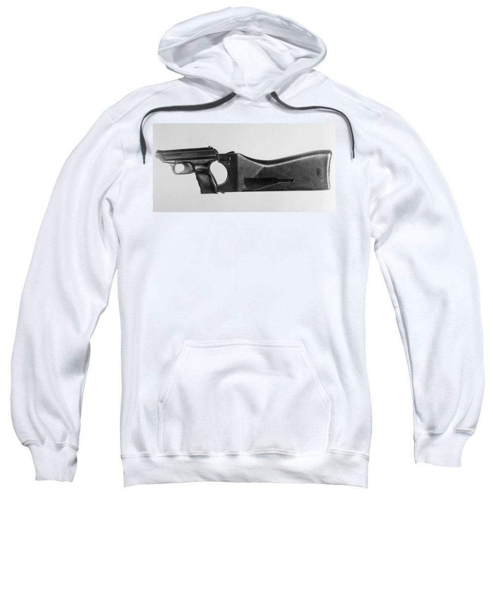 20th Century Sweatshirt featuring the photograph Heckler & Koch Pistol by Granger