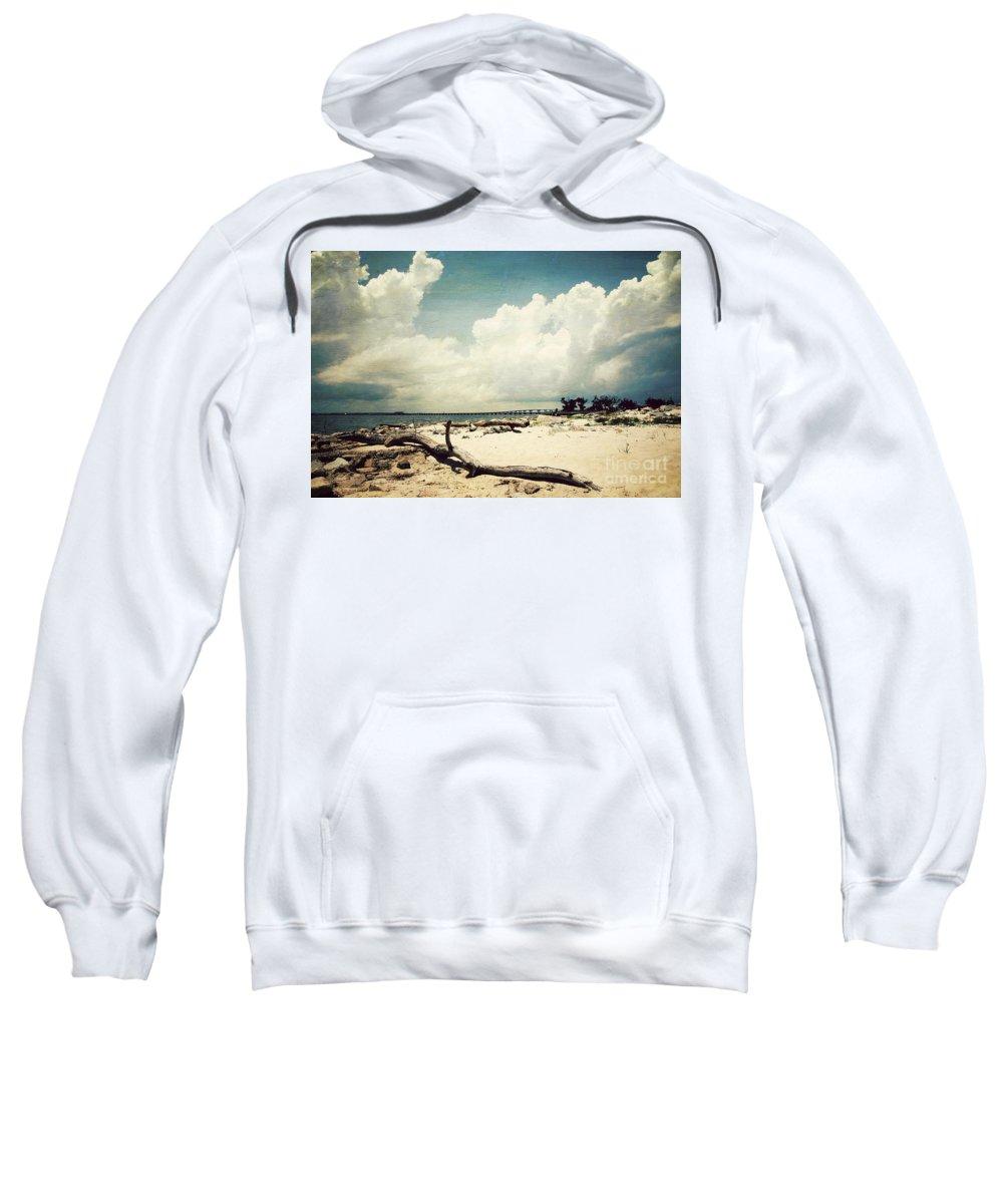 Beach Sweatshirt featuring the photograph Henderson Point by Joan McCool