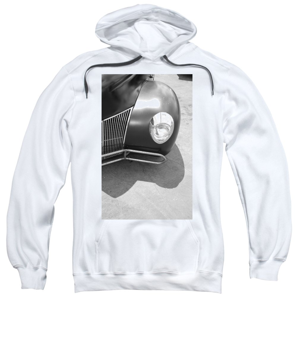 Hot Rod Sweatshirt featuring the photograph Hot Rod Grill by Rob Hans