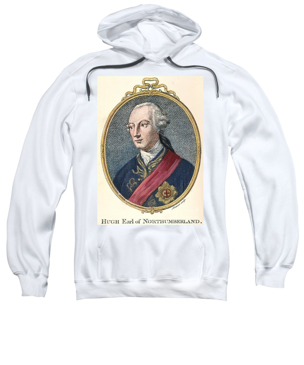 18th Century Sweatshirt featuring the photograph Hugh Percy (1742-1817) by Granger
