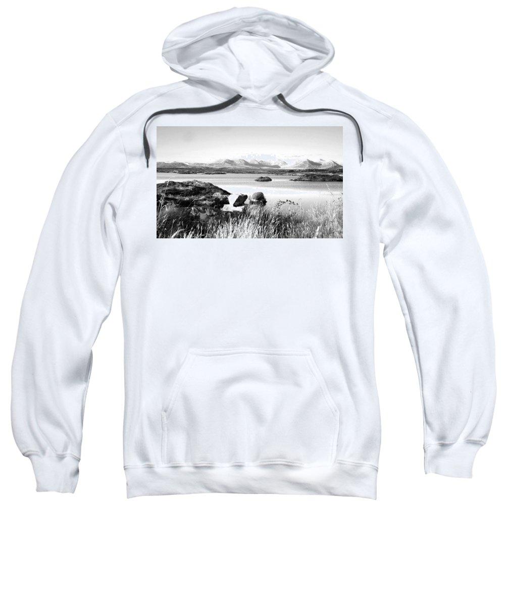 Ireland Sweatshirt featuring the photograph Irish Inland Sea Entrance by David Resnikoff