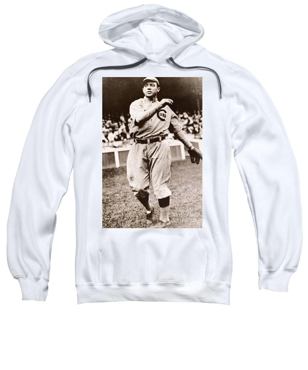 20th Century Sweatshirt featuring the photograph Joe Tinker (1880-1948) by Granger