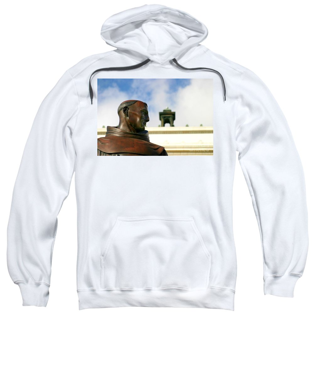 Ventura Sweatshirt featuring the photograph Junipero Serra by Henrik Lehnerer