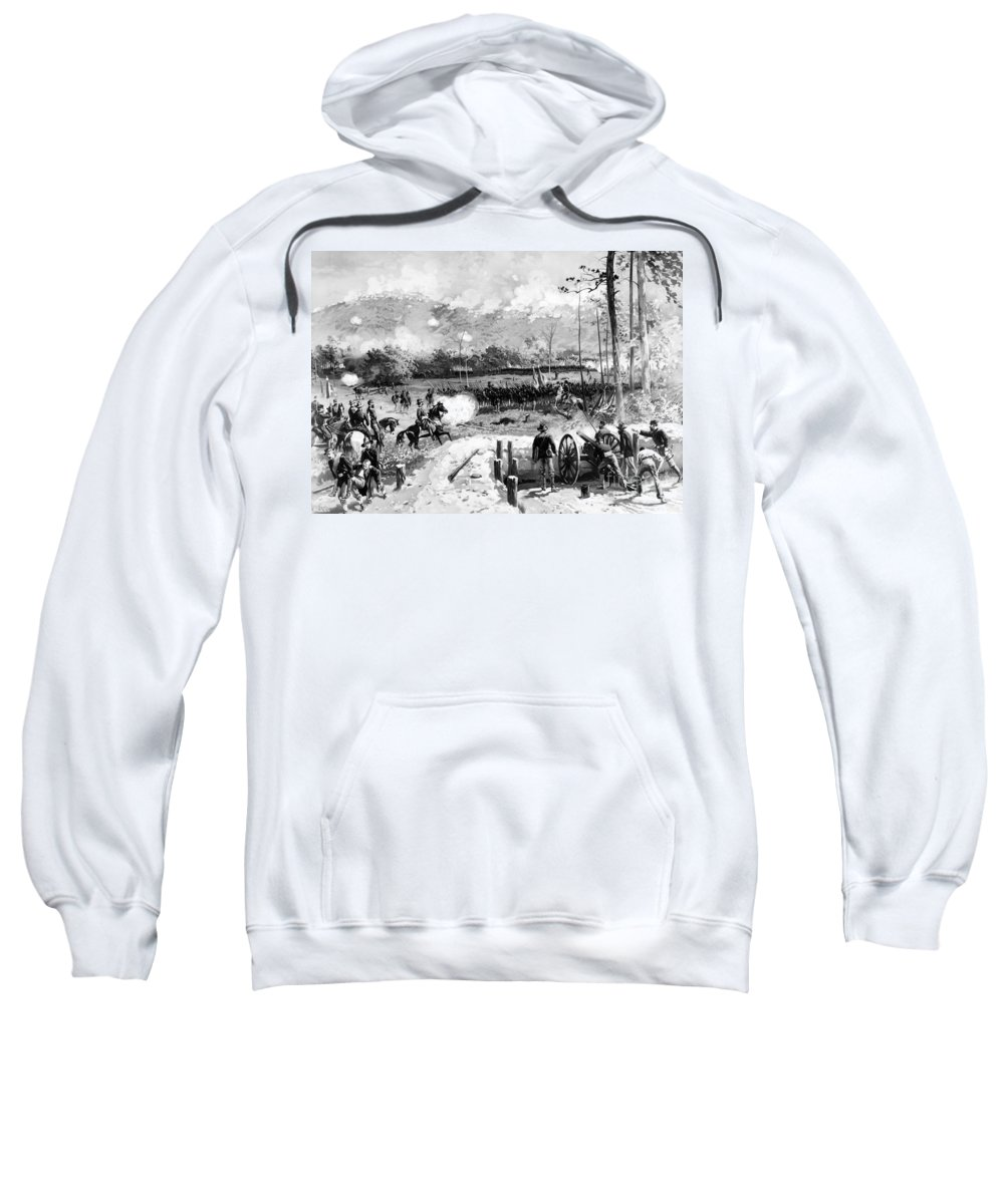 1864 Sweatshirt featuring the photograph Kennesaw Mountain, 1864 by Granger
