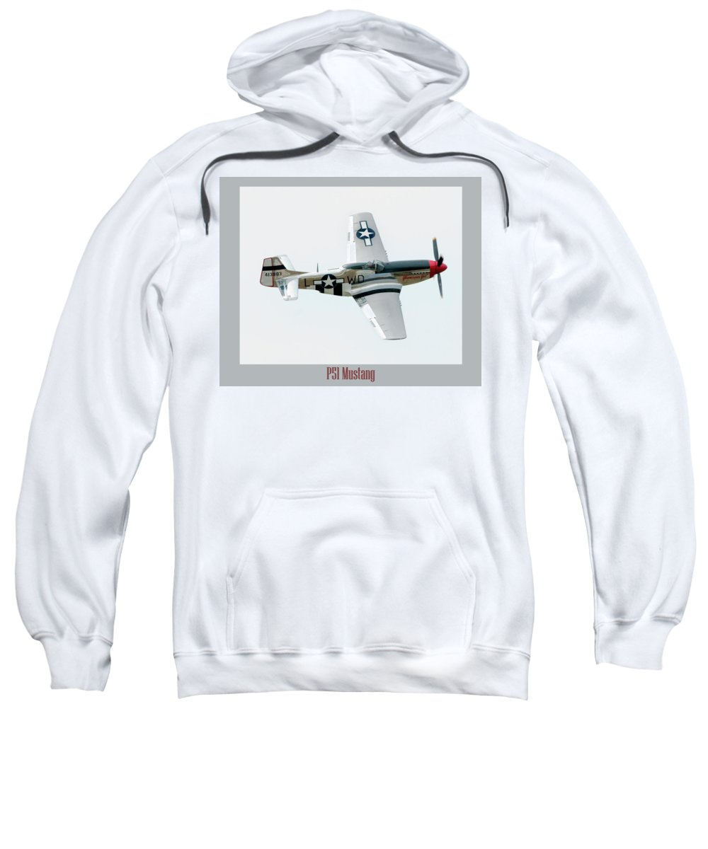 Airshow Sweatshirt featuring the photograph King Of The Skies by Greg Fortier
