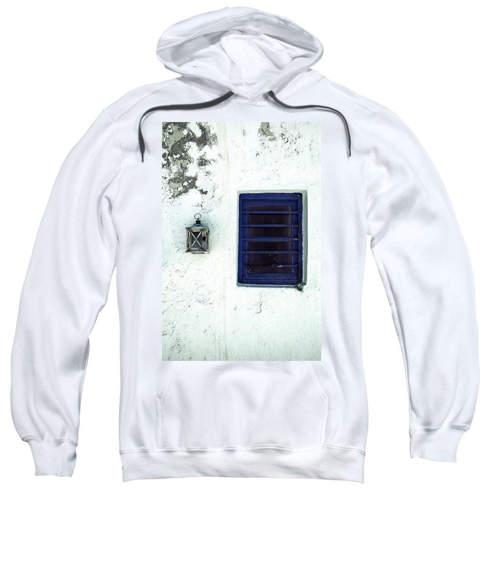 Lantern Sweatshirt featuring the photograph Lantern And Window by Joana Kruse