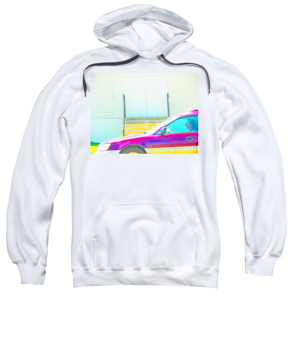 Abstract Sweatshirt featuring the photograph Life Happens by Lenore Senior