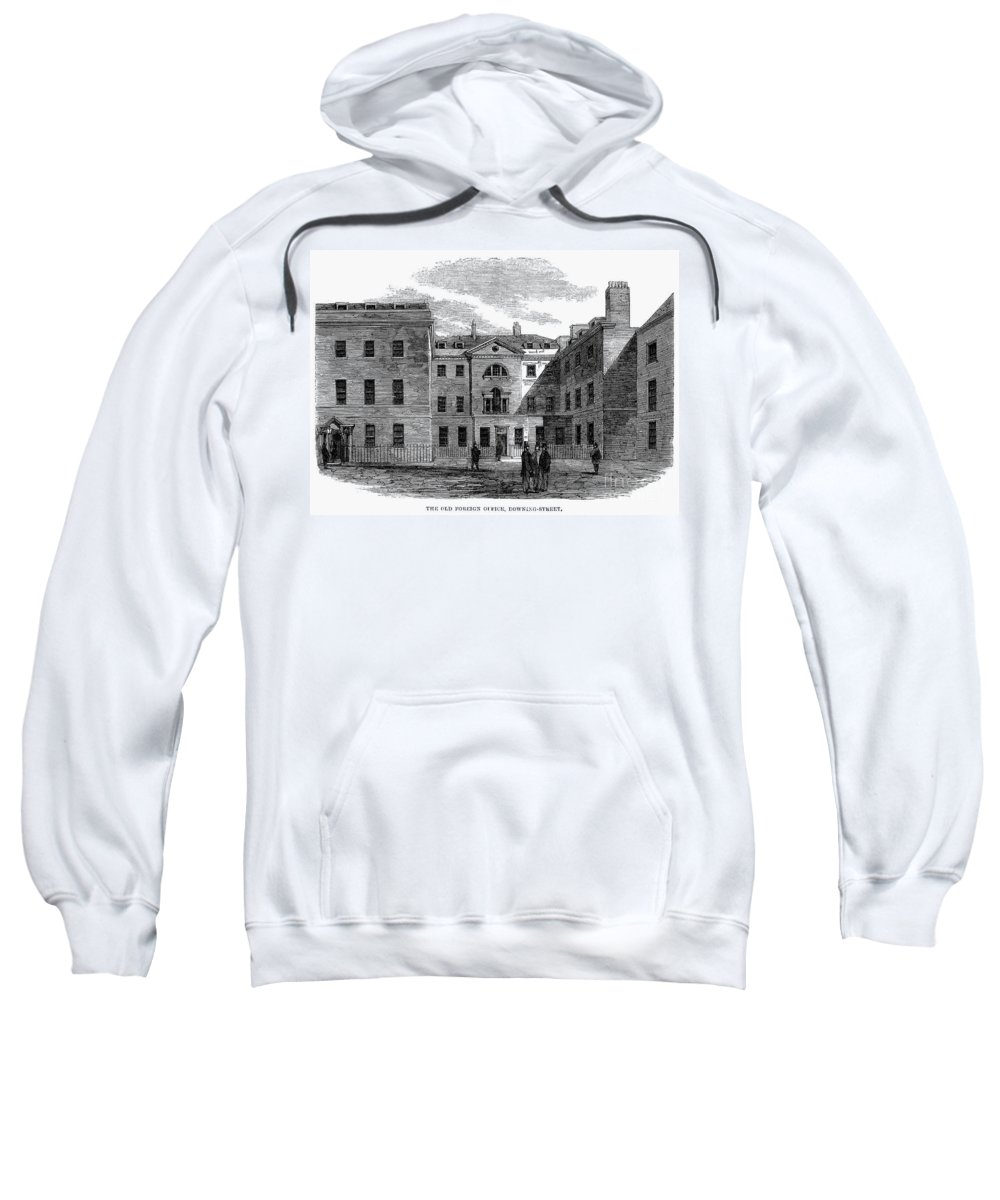 1861 Sweatshirt featuring the photograph London: Foreign Office by Granger