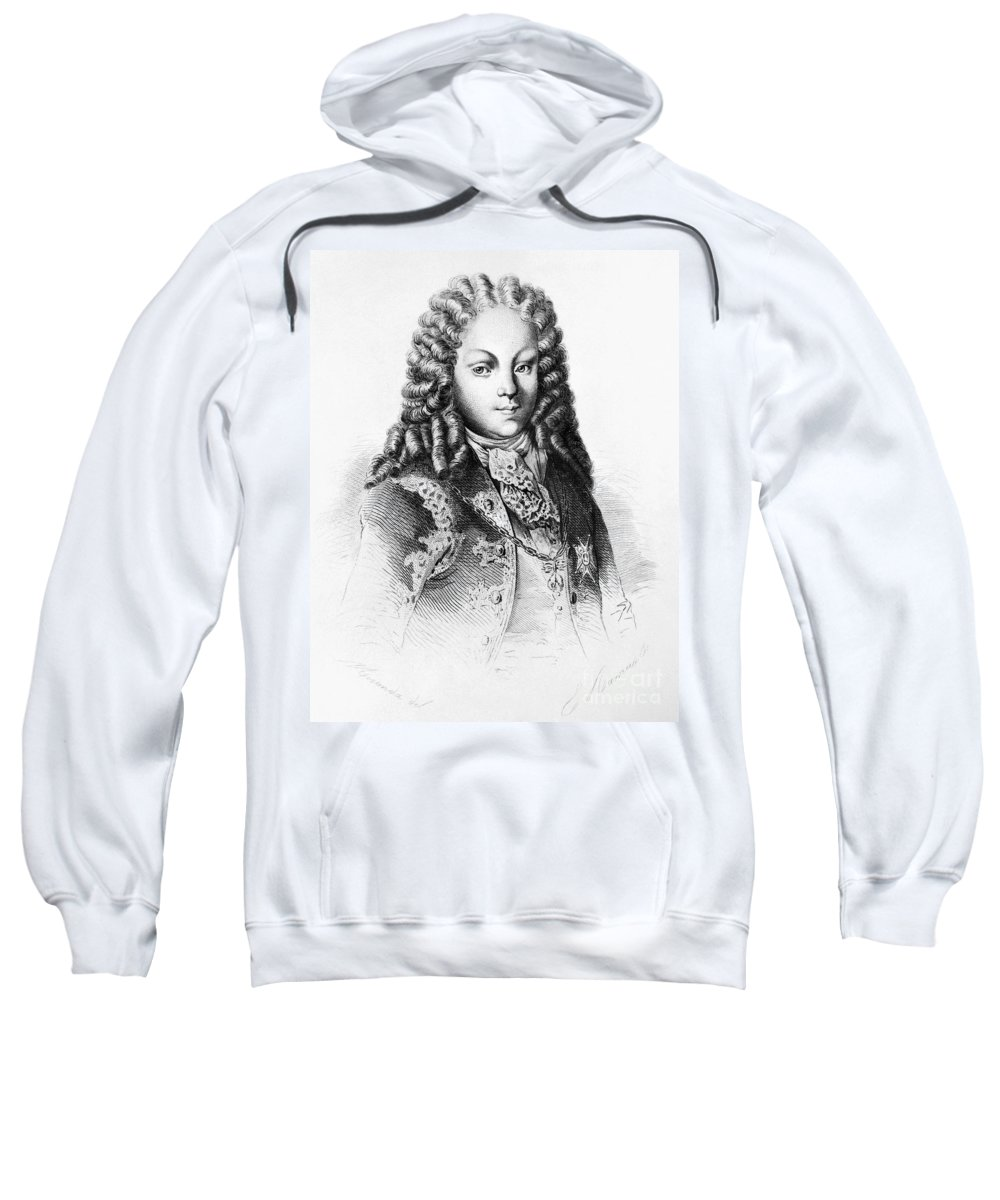 1724 Sweatshirt featuring the photograph Louis I Of Spain (1707-1724) by Granger