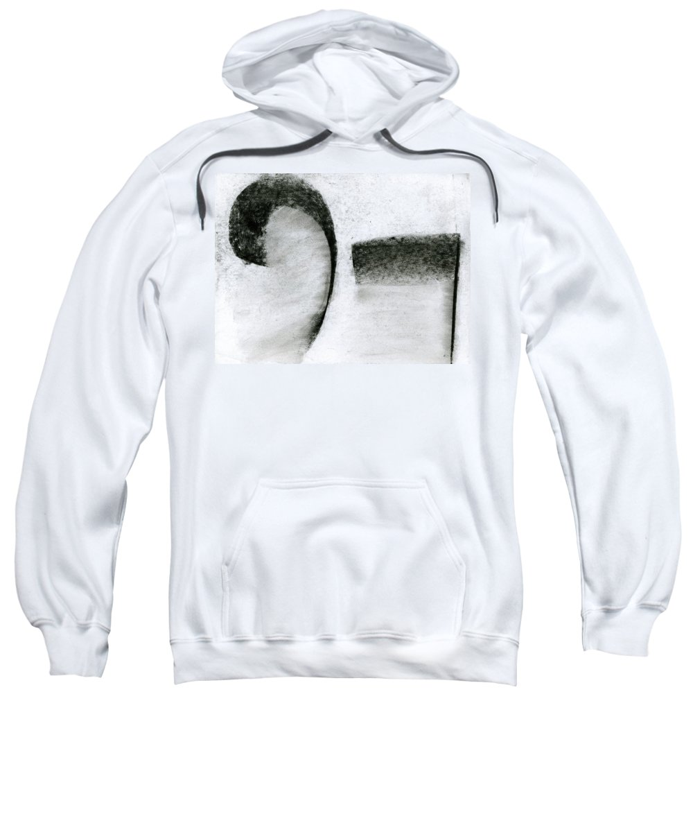 Lyrical Tabs Sweatshirt featuring the painting Lyrical Tabs by Taylor Webb