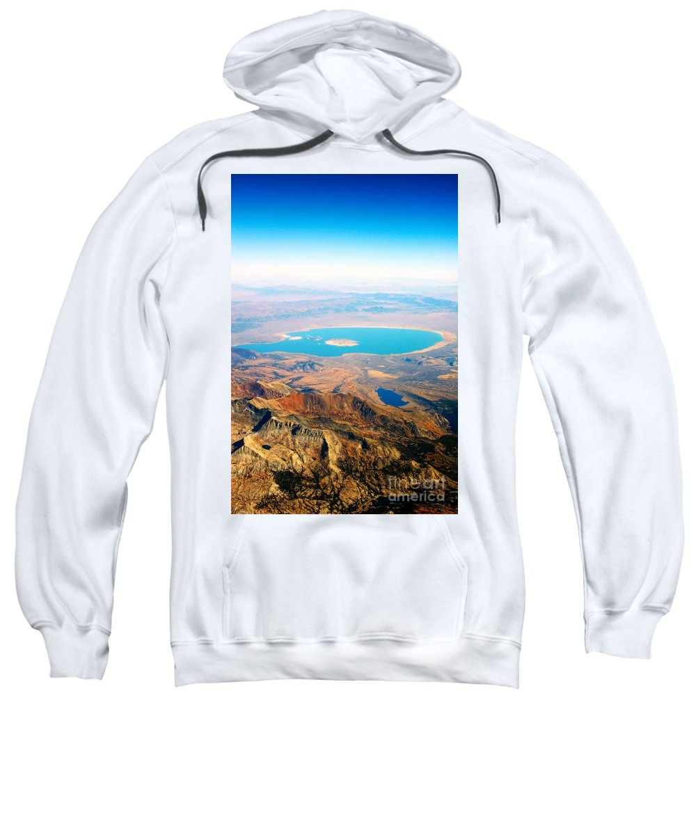 'mono Lake' Sweatshirt featuring the photograph Mono Lake - Planet Earth by James BO Insogna