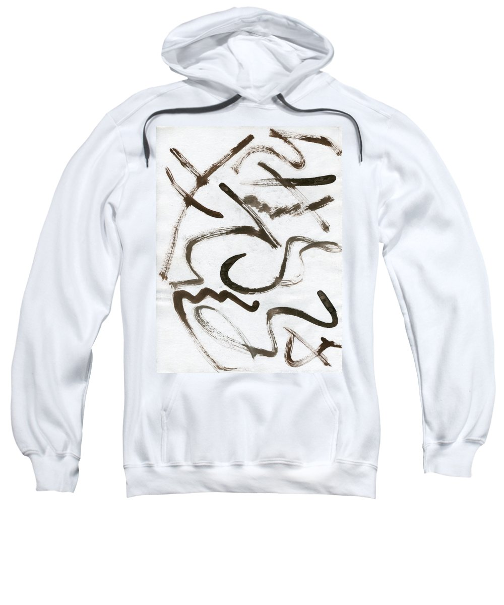 Never Stop And Wonder Sweatshirt featuring the painting Never Stop And Wonder by Taylor Webb