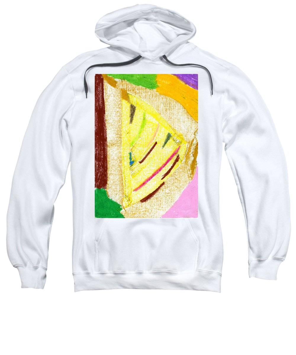 New Farmland Sweatshirt featuring the painting New Farmland by Taylor Webb