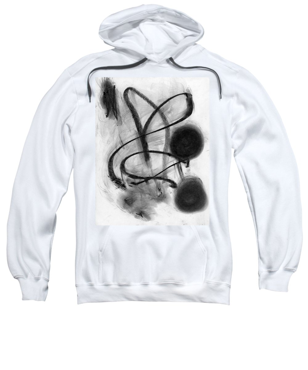 Night Timer Sweatshirt featuring the painting Night Timer by Taylor Webb