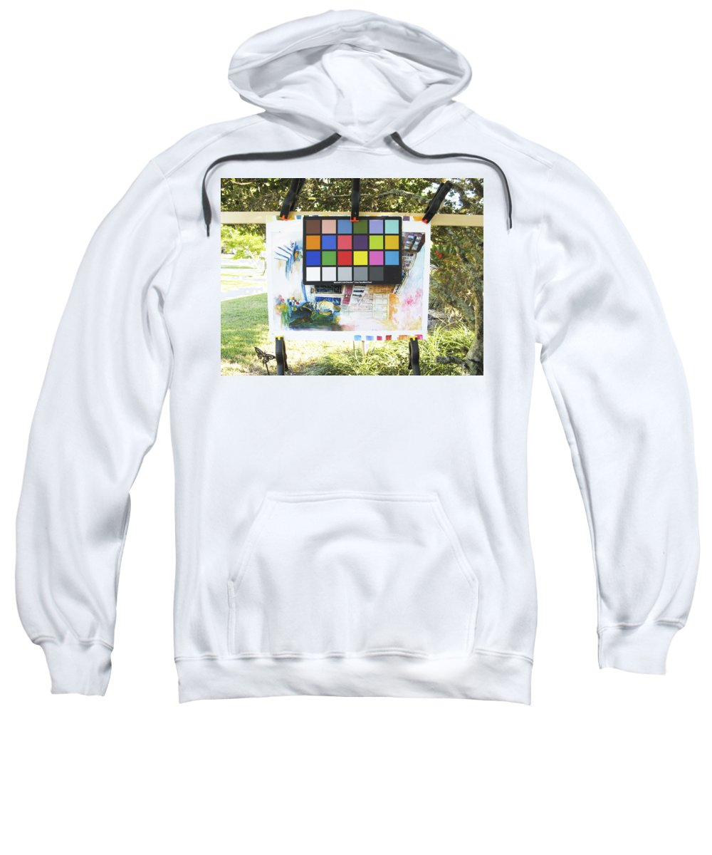 Sweatshirt featuring the photograph Number 9 by Rich Franco