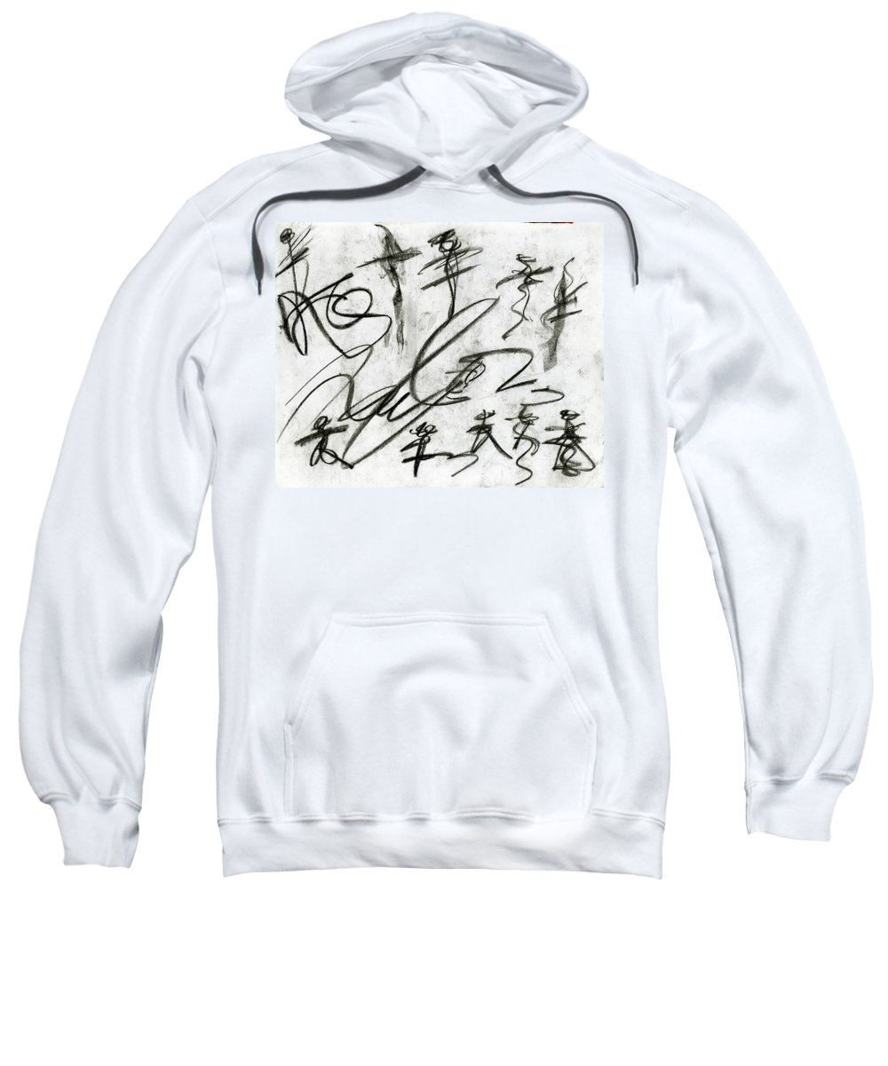 Obstacle To Justice Sweatshirt featuring the painting Obstacle To Justice by Taylor Webb