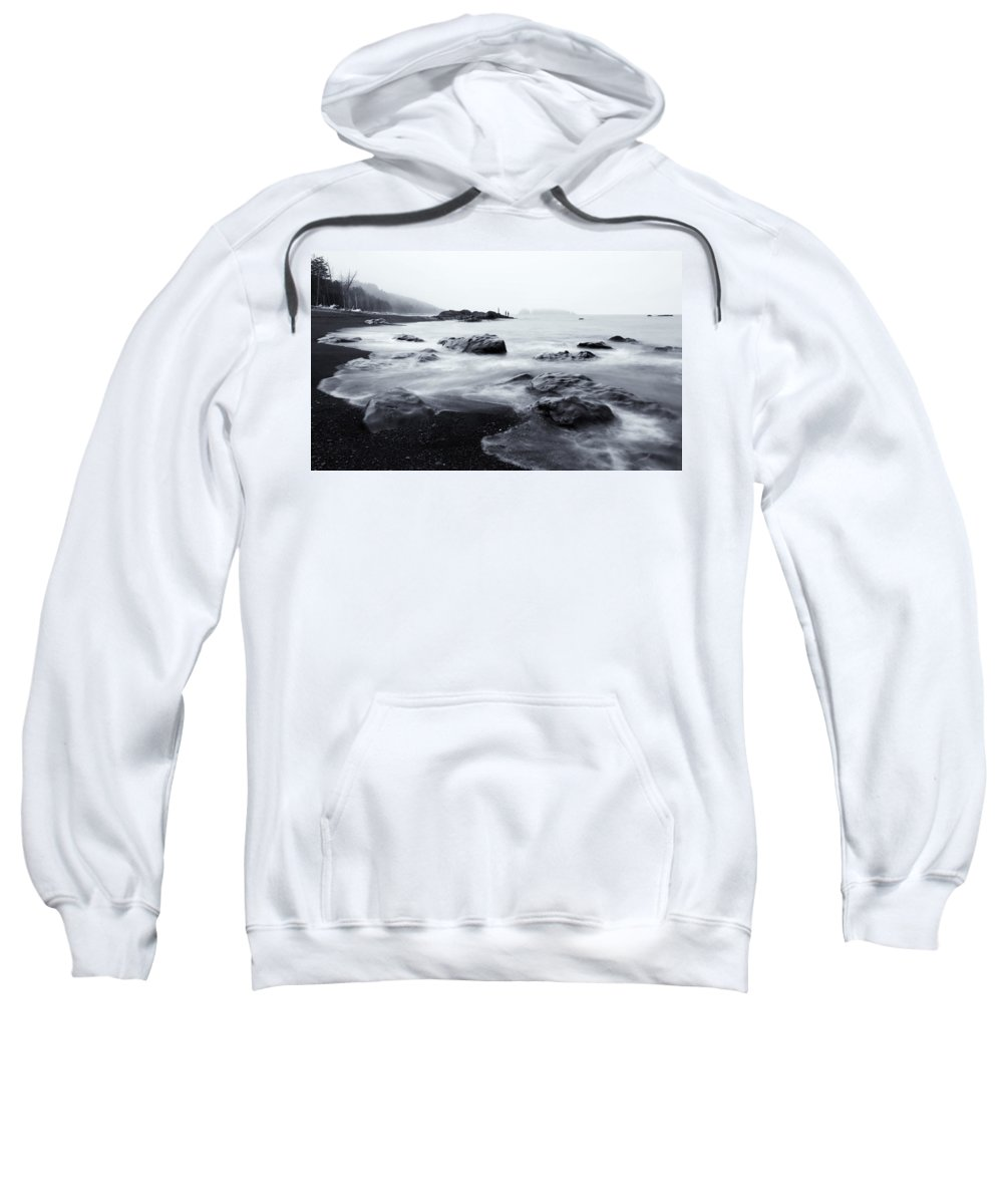 Sea Sweatshirt featuring the photograph Ocean Alive by Mike Dawson