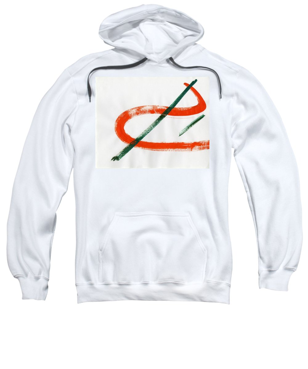 Of The Infinite Sweatshirt featuring the painting Of The Infinite by Taylor Webb