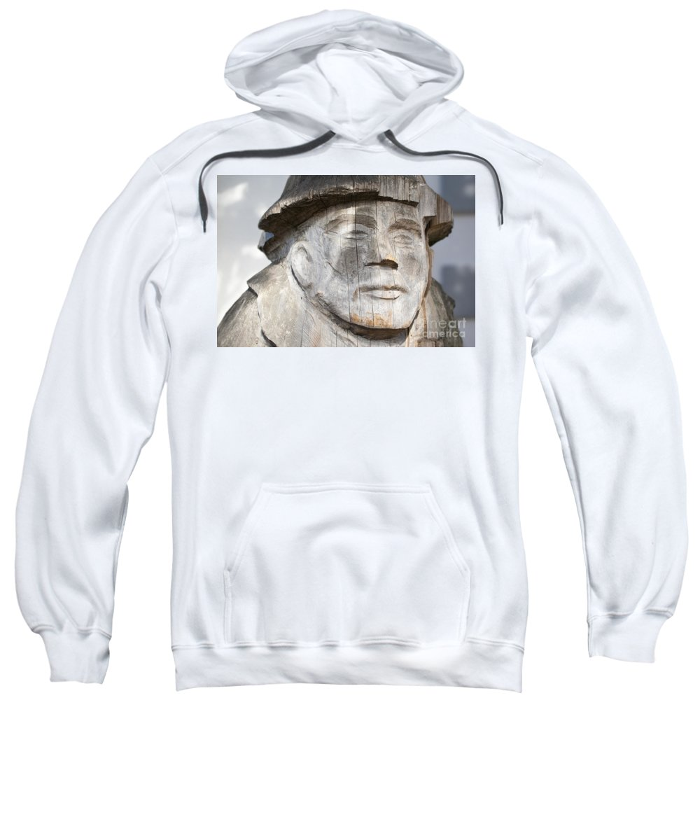 Wood Sweatshirt featuring the photograph Old Man Of The Sea by Chris Dutton