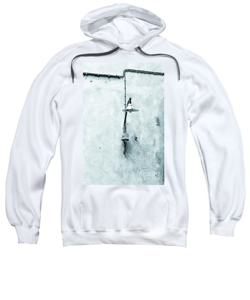 Street Lamp Sweatshirt featuring the photograph Old Street Lamp by Silvia Ganora