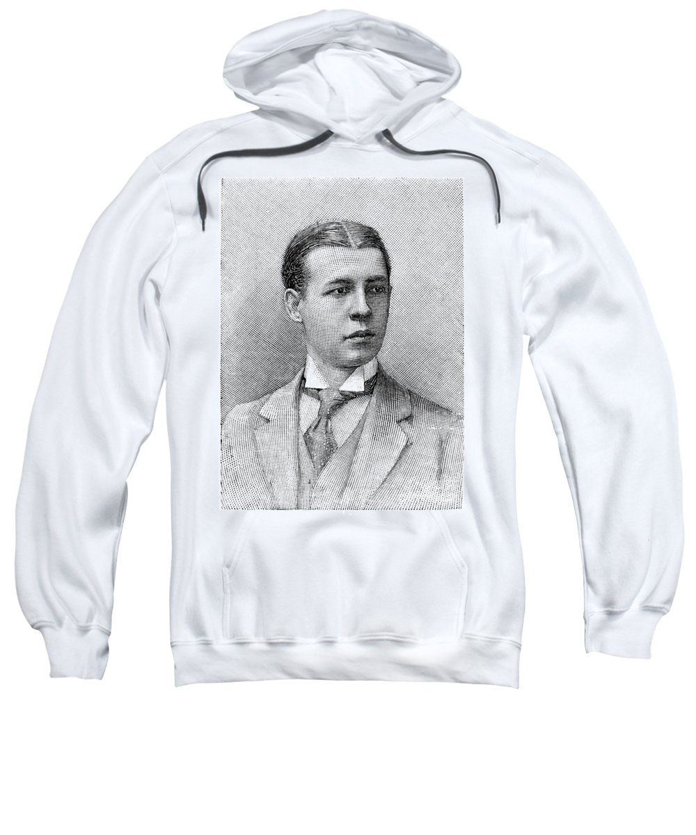 1891 Sweatshirt featuring the photograph O.s. Campbell, 1891 by Granger