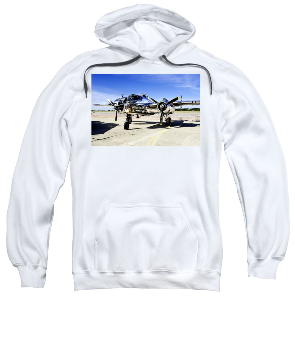 Airshow Sweatshirt featuring the photograph Panchito by Greg Fortier