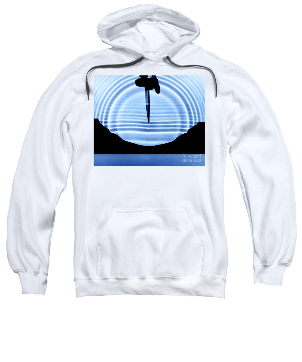 Circular Wave Sweatshirt featuring the photograph Parabolic Reflection by Berenice Abbott