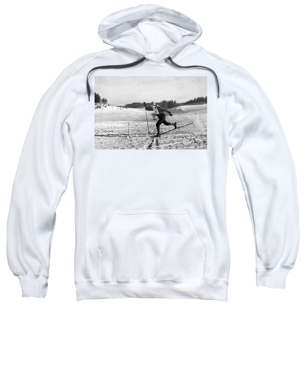 1960 Sweatshirt featuring the photograph Pavel Kolchin (b. 1930) by Granger