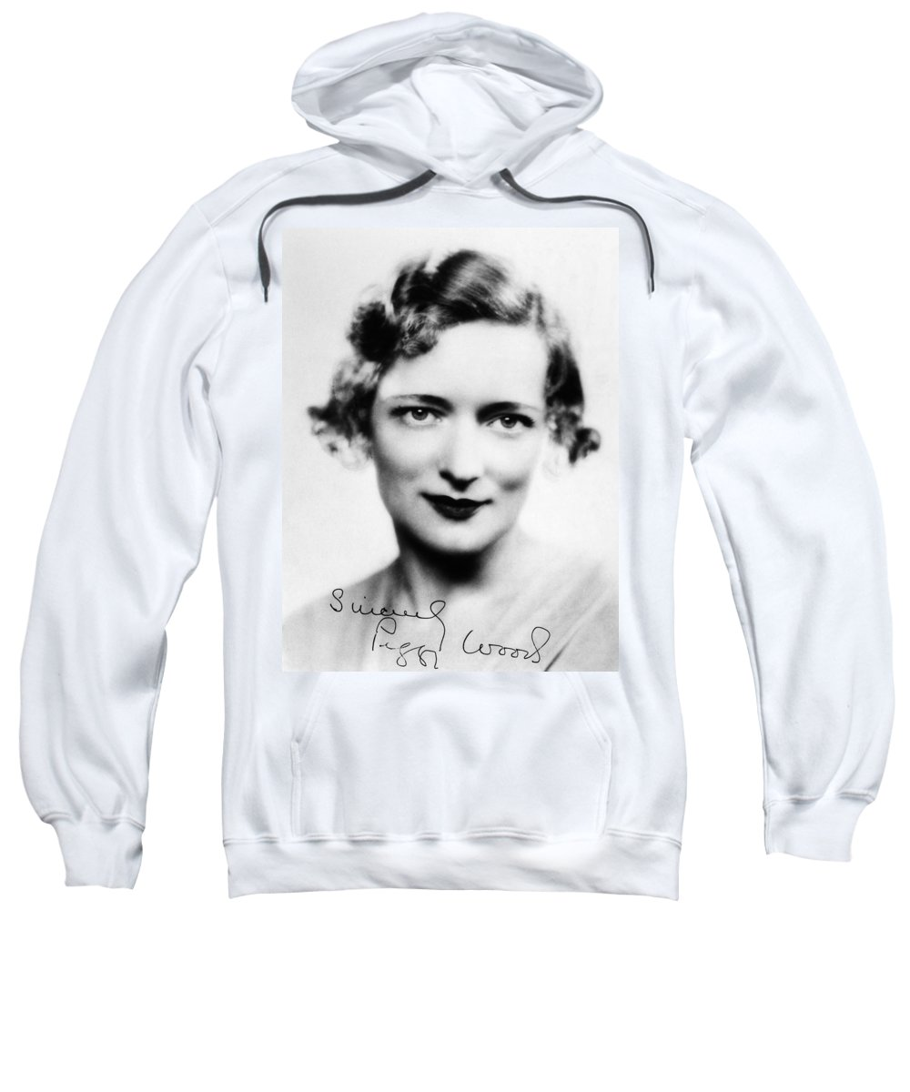 1930s Sweatshirt featuring the photograph Peggy Wood (1892-1978) by Granger