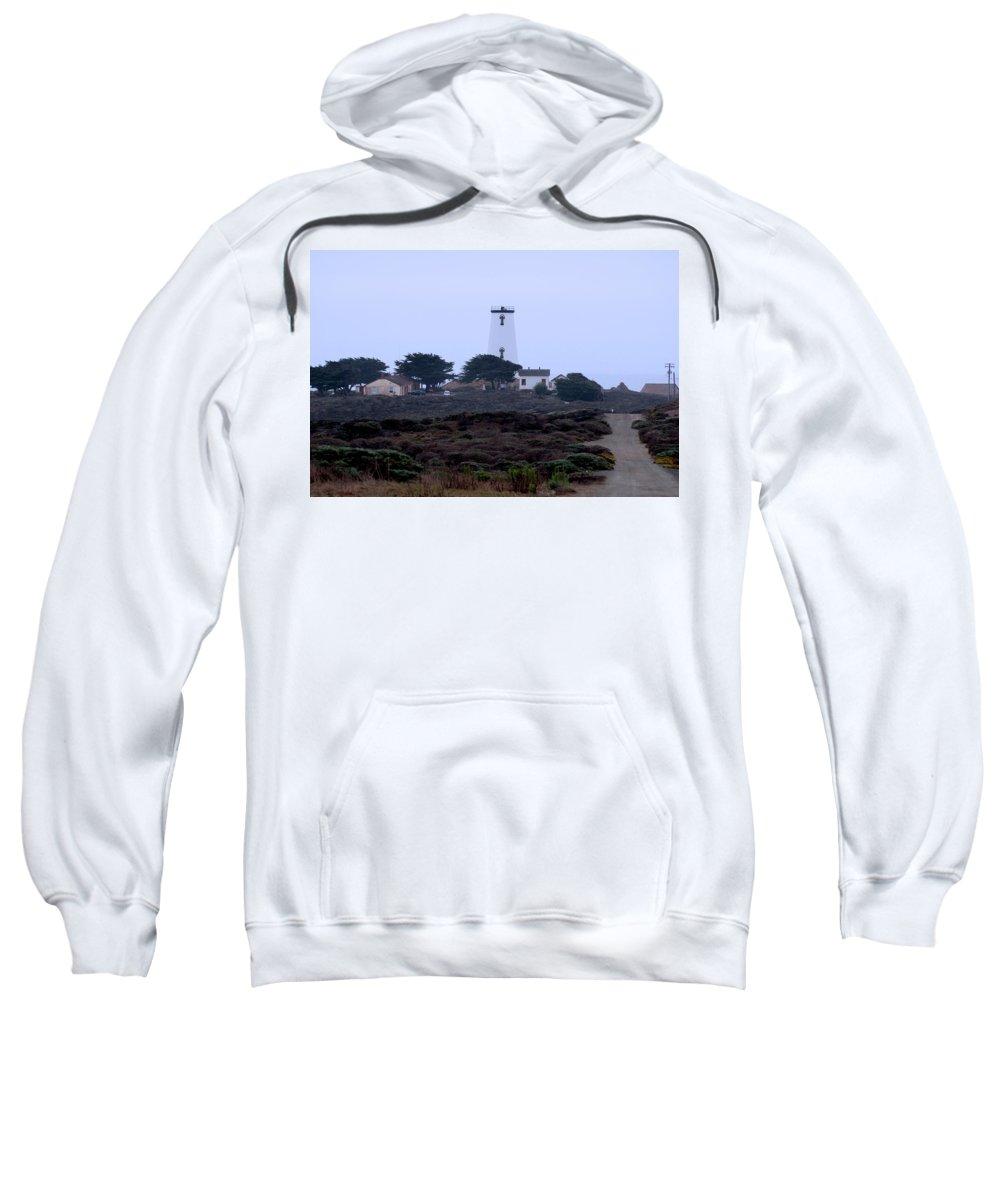 Lighthouse Sweatshirt featuring the photograph Peidras Blancas Lighthouse by Eric Tressler