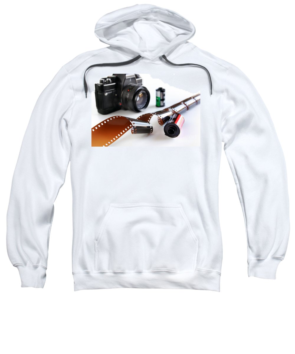 35mm Sweatshirt featuring the photograph Photography Gear by Carlos Caetano