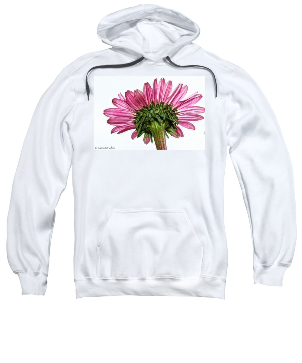 Minnesota Sweatshirt featuring the photograph Pink Heaven by Susan Herber