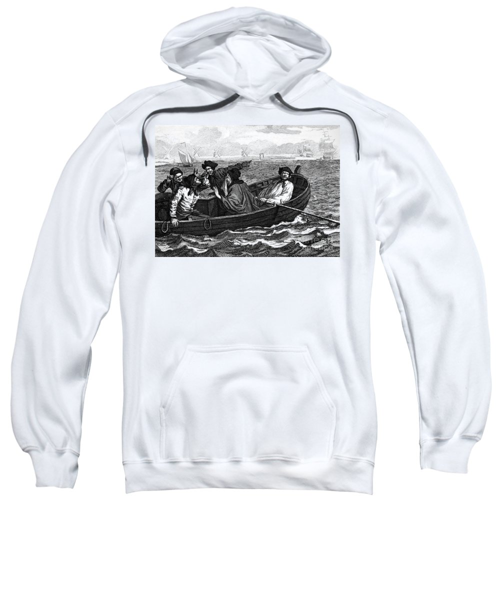 18th Century Sweatshirt featuring the photograph Pirates, 18th Century by Granger