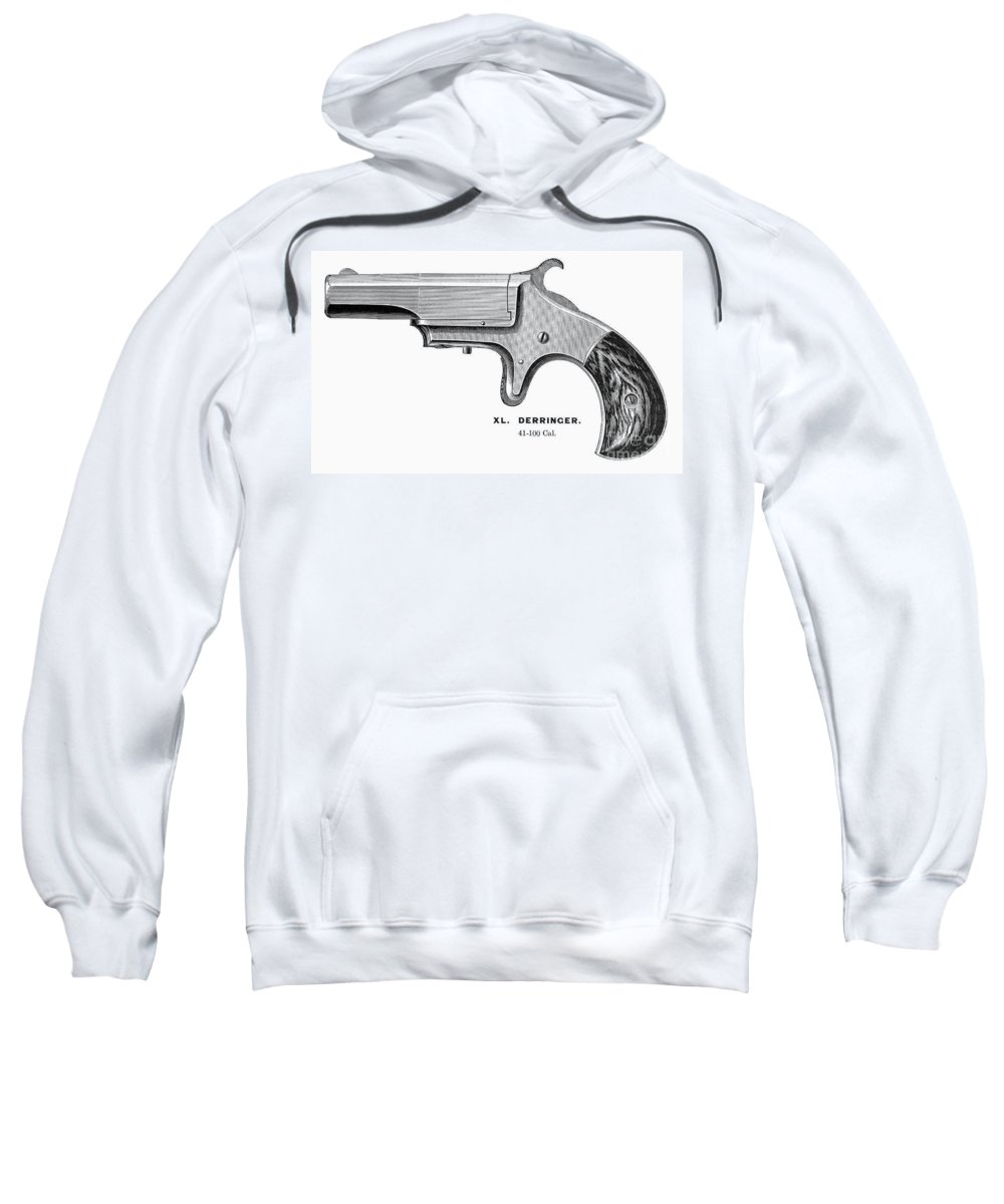 1880s Sweatshirt featuring the photograph Pistol, 19th Century by Granger